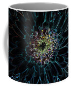 Glow Edge Flower Coffee Mug