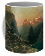 Glowing Alps Coffee Mug