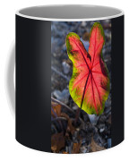 Glowing Coladium Leaf Coffee Mug
