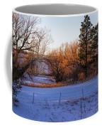 Glowing Cottonwoods Coffee Mug