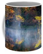 Glowing Cypresses Coffee Mug