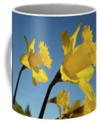 Glowing Daffodil Flowers Floral Art Baslee Troutman Coffee Mug