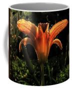 Glowing Day Lily Coffee Mug