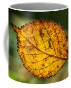 Glowing Fall Leaf Coffee Mug
