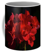 Glowing Flower In The Dark Coffee Mug