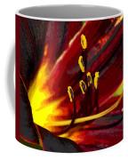 Glowing Flower Power Coffee Mug