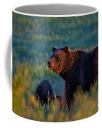 Glowing Grizzly Bear Coffee Mug