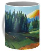 Glowing Hill Coffee Mug
