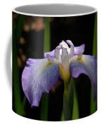Glowing Iris Coffee Mug