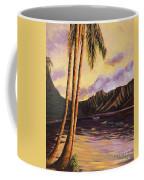 Glowing Kualoa Diptych 1 Of 2 Coffee Mug