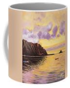 Glowing Kualoa Diptych 2 Of 2 Coffee Mug