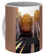 Glowing Magical Cable Cars On Nob Hill Coffee Mug