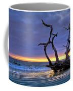 Glowing Sands At Driftwood Beach Coffee Mug