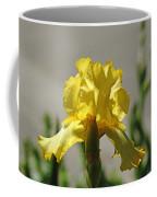 Glowing Yellow Iris Coffee Mug