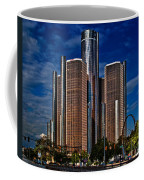 Gm And Marriot Monster In Detroit Coffee Mug
