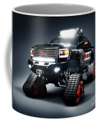 Gmc Pickup Truck On Snow Tracks Coffee Mug