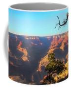 Gnarled Juniper On Canyon Rim Coffee Mug