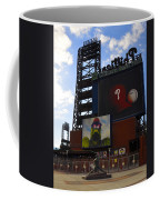 Go Phillies - Citizens Bank Park - Left Field Gate Coffee Mug