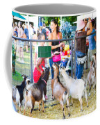 Goats At County Fair Coffee Mug