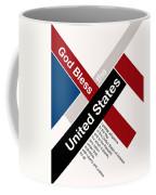 God Bless The United States Coffee Mug