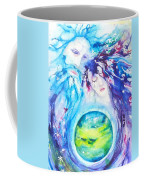 God, Goddess, Earth Ripple Effect Coffee Mug