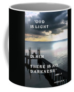 God Is Light Coffee Mug
