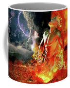 God Of Fire Coffee Mug