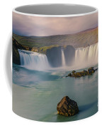 Godafoss In Iceland Coffee Mug