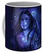 Goddess In Blue Coffee Mug