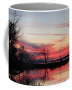 God's Hand On The Lake Coffee Mug