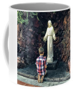 Going Before The Sacred Heart Of Jesus Coffee Mug