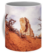 Going Down The Slope At Kodachrome Basin State Park. Coffee Mug
