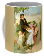 Going To The Fair Coffee Mug by Frederick Morgan