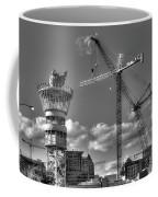 Going Up Midtown Atlanta Construction Art Coffee Mug