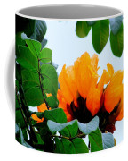 Gold African Tulips Coffee Mug