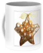 Gold Ball Star Coffee Mug