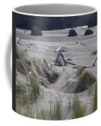 Gold Beach Oregon Beach Grass 18 Coffee Mug