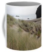 Gold Beach Oregon Beach Grass 24 Coffee Mug