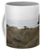 Gold Beach Oregon Beach Grass 4 Coffee Mug