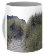 Gold Beach Oregon Beach Grass 5 Coffee Mug
