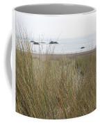Gold Beach Oregon Beach Grass 7 Coffee Mug