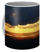 Gold Behind The Clouds Coffee Mug