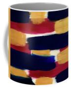 Gold Blue Coffee Mug
