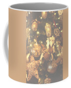 Gold Christmas Tree Decorations Coffee Mug