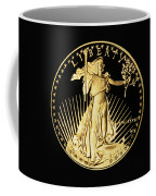 Gold Coin Front Coffee Mug