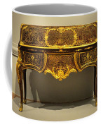 Gold Desk Coffee Mug