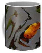 Gold In The Pond Coffee Mug