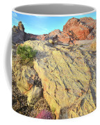 Gold Lava Flow In Valley Of Fire Coffee Mug