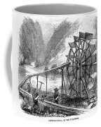 Gold Mining, 1860 Coffee Mug