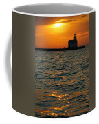Gold On The Water Coffee Mug by Bill Pevlor